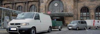 DIE ERSTE HILFSLIEFERUNG DES DRESDEN-BALKAN-KONVOIS STARTET